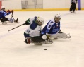 "SHC ""Ugra"" confidently won from the national sledge hockey team of the Czech Republic with the score 5:1."