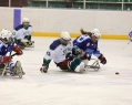 The first starts the sledge hockey players in a new season