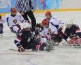 Total success of Russian sledge hockey players