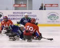 "Sledge Hockey Club ""Ugra"" confidently won from Moscow ""Star"" with the score 6:1."