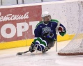 "Sledge Hockey Club ""Ugra"" won the third match in a row in the Championship of Russia."