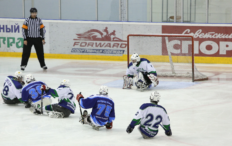Open tournament's sledge hockey Cup of Ugra